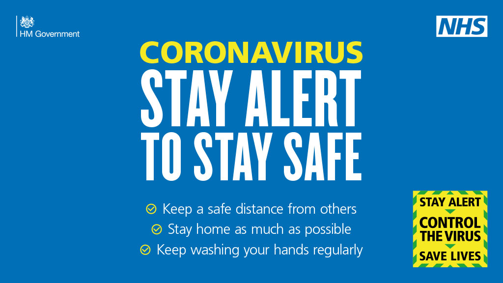 Coronavirus - Stay Home, Protect The NHS, Save Lives